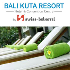 バリ島 観光 ツアー Bali Kuta Resort by Swiss-Belhotel